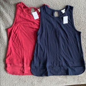 J.Crew Tanks (set of 2)